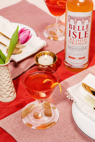 Check Yes or No - Belle Isle Blood Orange cocktail recipe