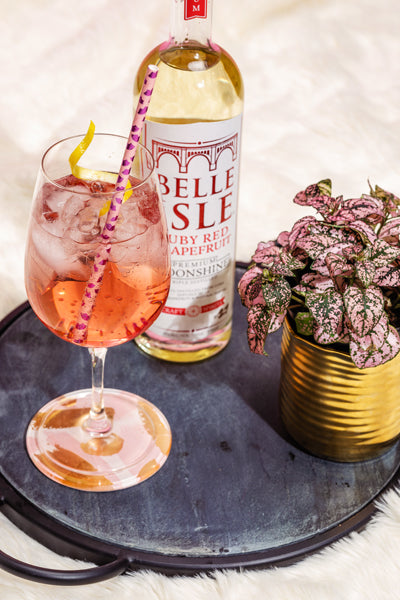 Rosé Garden - Belle Isle Ruby Red Grapefruit cocktail recipe