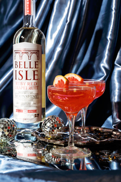 The Moon Also Shines - Belle Isle Ruby Red Grapefruit cocktail recipe
