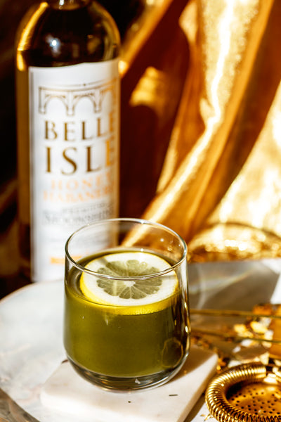 The Big Green - Belle Isle Honey Habanero cocktail recipe