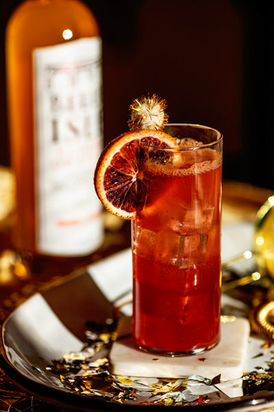 The Palermo - Belle Isle Blood Orange cocktail recipe