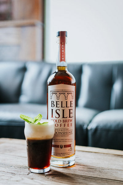 Belle Isle Iced Coffee - Belle Isle Cold Brew Coffee cocktail recipe