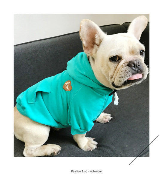 Embroidery Family Clothes For Dog Pet Pitbull Dog Coat Jacket Clothes For Small Medium Dog Hoodie Shirt For Women Dog Pajamas