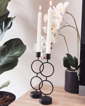 Load image into Gallery viewer, Amira Double Ring Candleholder