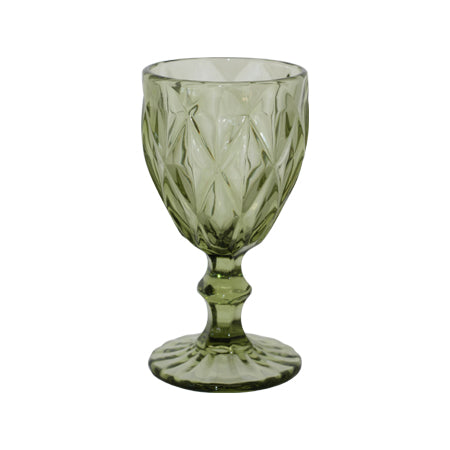 Forest Green Drinkware Wine Glass