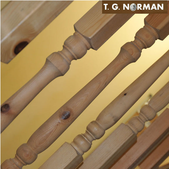Spindles (Turned) – for stairs