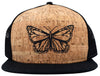 Butterfly Cork Trucker Hat