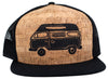 Camper Van Cork Trucker Hat