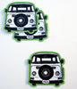 Van Love II Sticker bright green