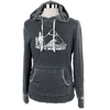 Pacific Northwest Unisex Hoodie in Burnout Coal