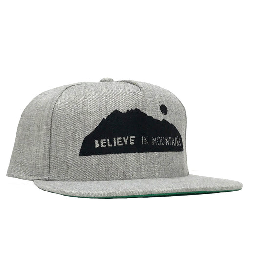 Tweed Believe in Mountains Structured Hat in Classic Grey 9543686d64dc