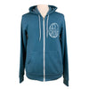 Be Brave Unisex Fleece Zip in Teal