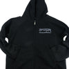 Cascadian Kid's Zip Hoodie in Black