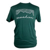 Cascadian Cotton Unisex Tee in Pine