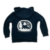 Find Adventure Together Kid's Hoodie in Navy
