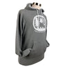 Find Adventure Together Unisex Midweight Hoodie in Light Gray