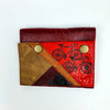 Double Snap Wallet by Sown Designs