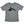 Orca Save the Whales Kid's Triblend Tee in Grey