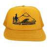 Pacific Northwest Kid's Trucker Hat in Sunshine Yellow