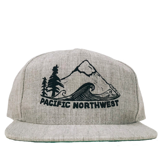 Tweed Pacific Northwest Structured Hat in Classic Grey 181e98d4565d
