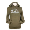 Pacific Northwest Unisex Pullover Hoodie in Eco Army Heather