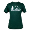 Pacific Northwest Unisex Triblend Tee in Forest Green