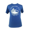 Adventure is a Family Value Unisex Triblend Tee in Painter's Blue