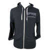 Cascadian Charcoal Heather French Terry Unisex Zip Hoodie