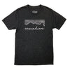 Cascadian Unisex Triblend Tee in Charcoal