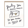 Greeting Cards by Ghost Academy