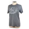 Lift Others Up Unisex Triblend Tee in Grey