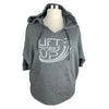 Lift Others Up Women's 3/4 Sleeve French Terry Hoodie in Grey