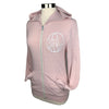 Be Brave Unisex Lightweight Zip in Baby Pink
