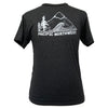 Pacific Northwest Unisex Triblend Tee in Charcoal