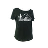 Pacific Northwest Women's Tri-Blend Tee in Charcoal (Relaxed Fit)