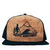Pacific Northwest Cork Trucker Hat