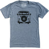 Van Love II Unisex Tee in Grey Triblend