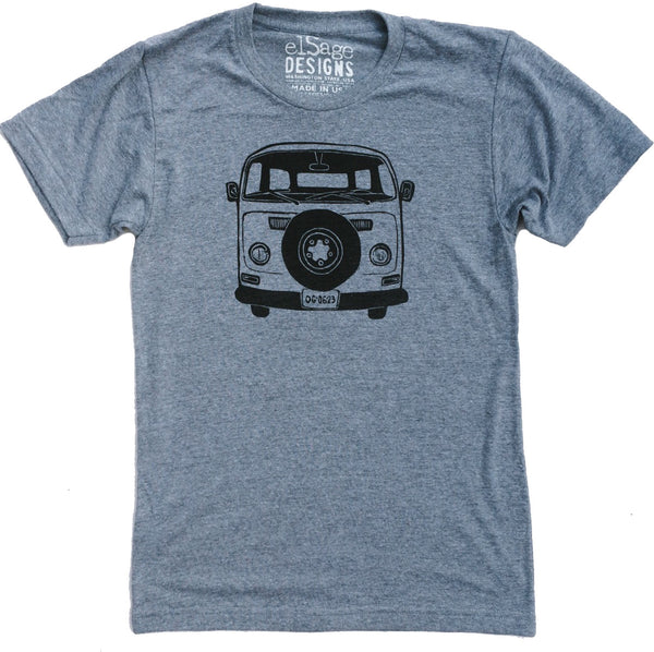 Van Love II Tee in Grey Triblend