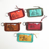 Bike Leather Zip Pouch by Sown Designs