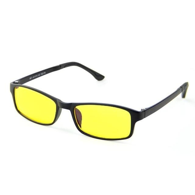 Yellow Tint Anti Blue Light Gaming Glasses - Eye Wear Blue