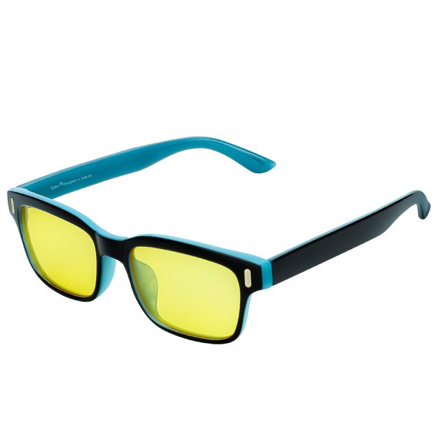 Anti Blue Light Computer Glasses Yellow Lenses - Eye Wear Blue