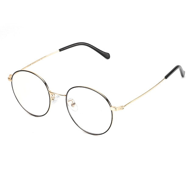 Metal Frame Anti Blue Light Computer Glasses - Eye Wear Blue