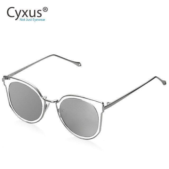 Women Cat Eye Sunglasses - Eye Wear Blue