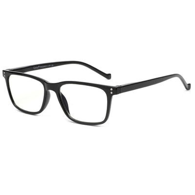 Retro Classic Anti Blue Light Reading Glasses Rectangle - Eye Wear Blue