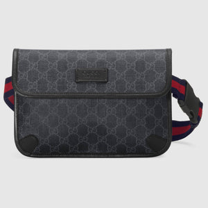GG Black belt bag - Haim Place
