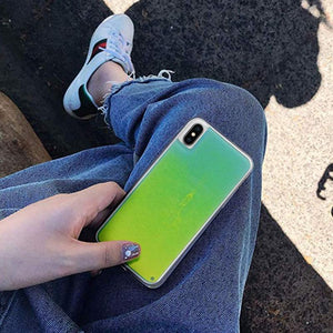 Glowing Quicksand iPhone Case - Haim Place