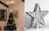 Projection Star Christmas Tree Topper - Haim Place