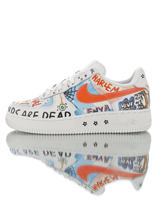 NIKE AIR FORCE 1 LOW Custom VLONE Fashion A$AP Ian Connor Supreme Palace Gosha - Haim Place