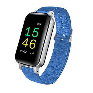 T89 Smart Bracelet Fitness Tracker TWS Wireless Headset Bluetooth 5.0 Earphones Heart Rate Monitor IP67 Smart Band Sports Watch - Haim Place