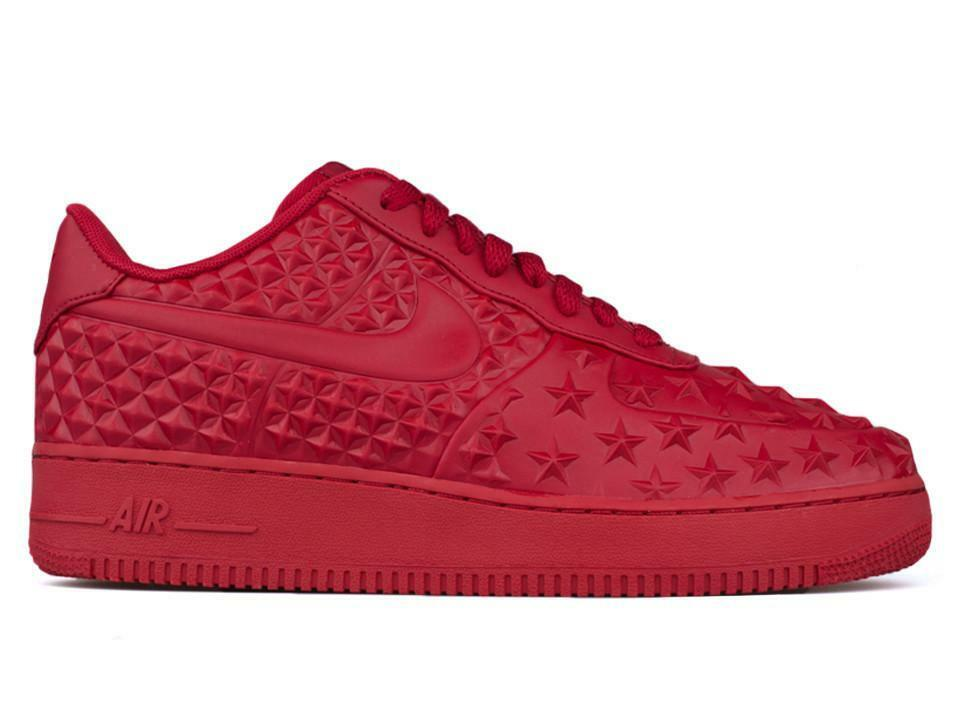 NIKE AIR FORCE 1 LV8 LOW GYM RED